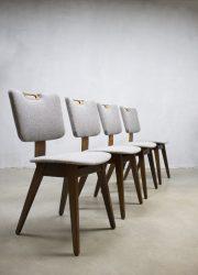 lywood vintage dinner chair Dutch vintage design eetkamerstoelen
