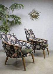 midcentury design lounge chairs Bovenkamp Madsen & Schubell