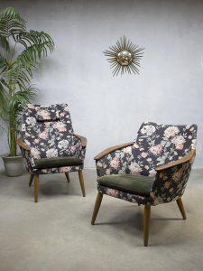 Vintage design fauteuil armchair Bovenkamp Madsen & Schubell