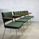 Vintage Gispen eetkamer stoelen André Cordemeyer office dinner chairs