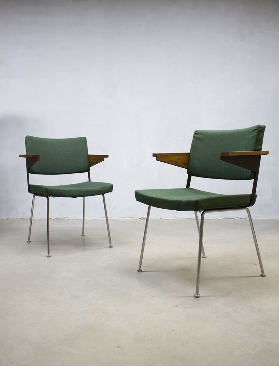 Industri le eetkamer stoelen stoel gispen chairs dutch for Dutch design stoel
