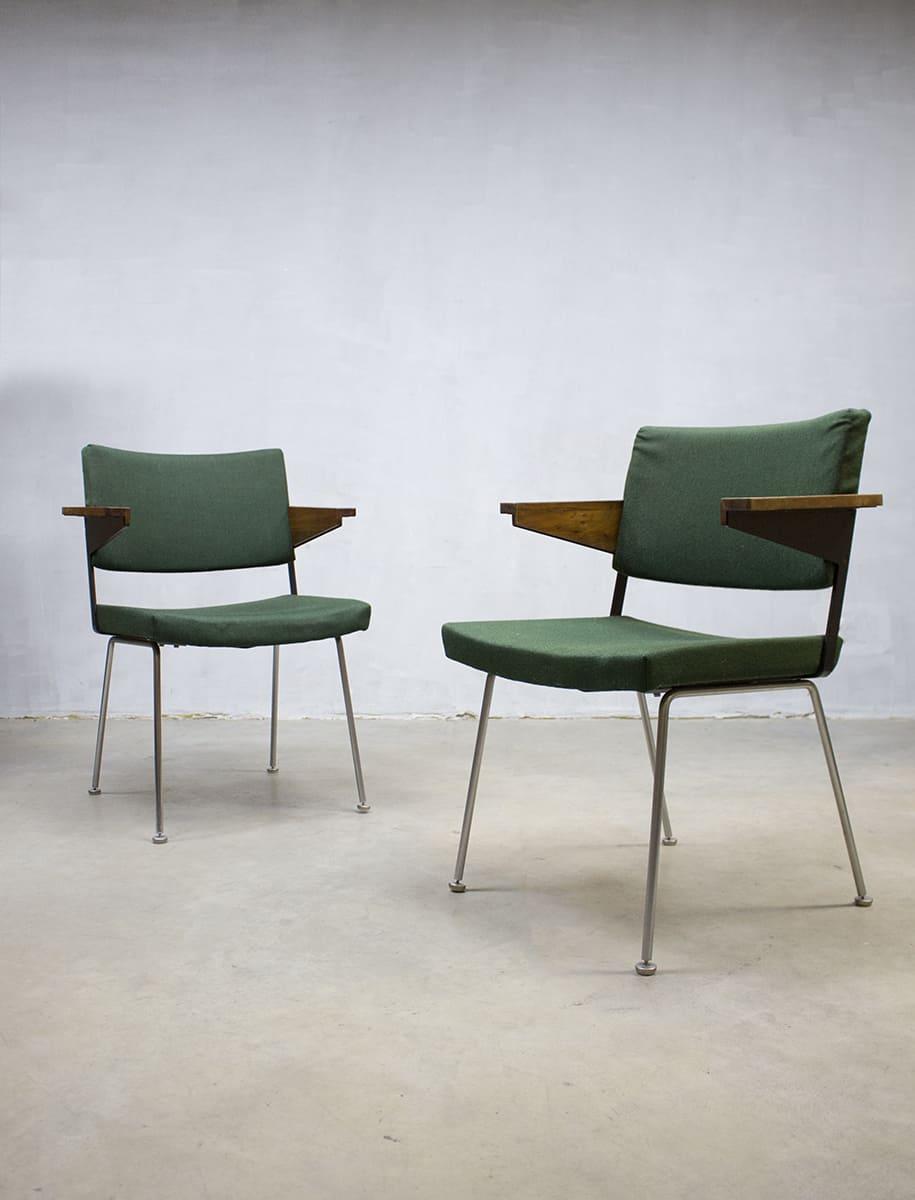 Vintage eetkamerstoelen gispen andr cordemeyer office for Dutch design eetkamerstoelen