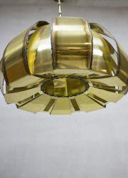 midcentury modern pendant Sven Aage Holm-Sørensen brutalist lamp
