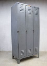 vintage locker kast industrieel