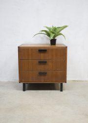Vintage ladekast Cees Braakman Pastoe, vintage chest of drawers Pastoe