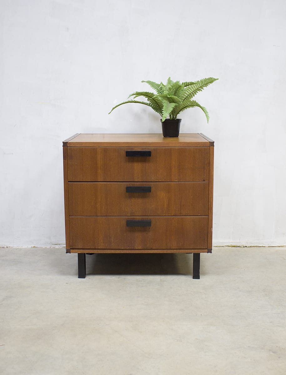 Vintage ladekast Cees Braakman Pastoe, vintage chest of drawers Pastoe