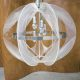 midcentury nylon lamp Paul Secon lamp Sompex