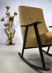 Vintage design schommelstoel rocking chair Webe