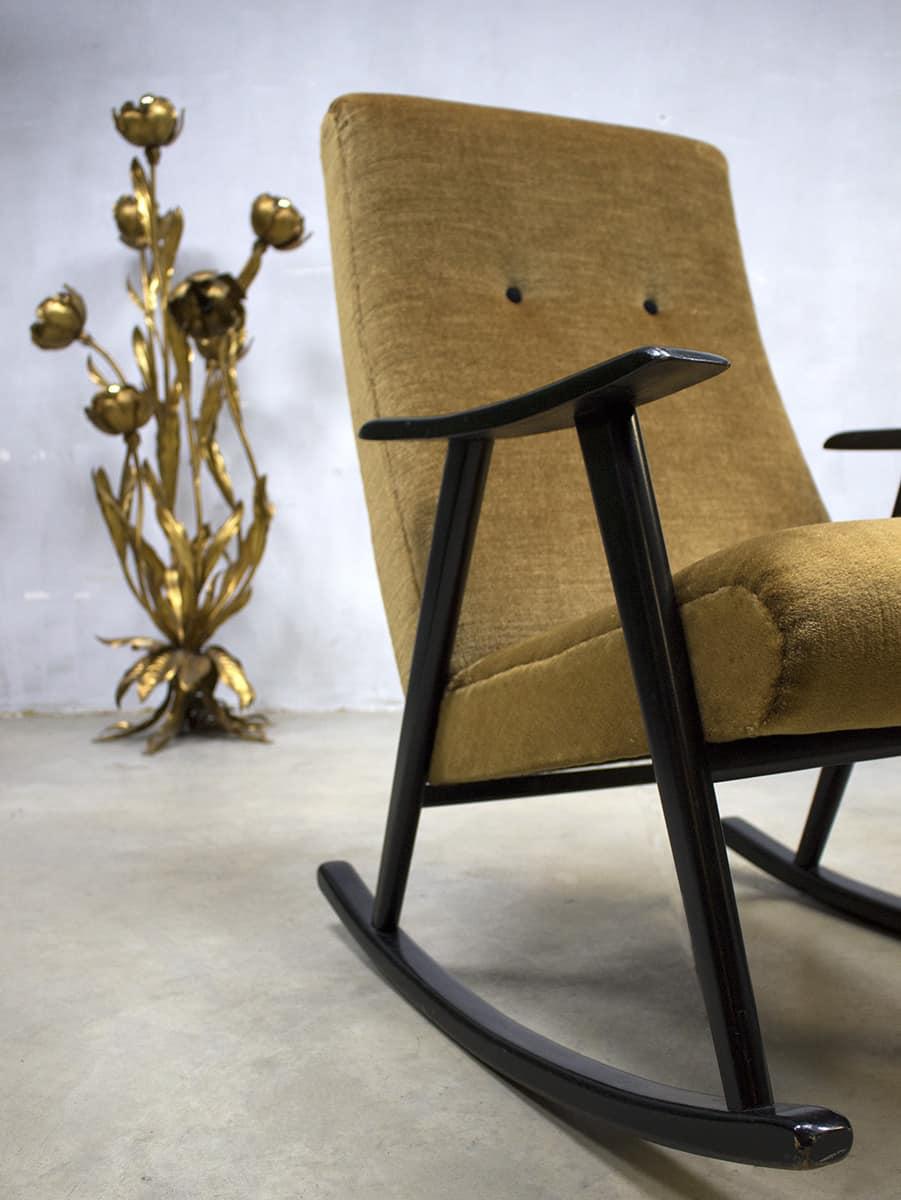 Scandinavisch Design Schommelstoel.Leco Design Schommelstoel Ligbedden Of Design Schommelstoel