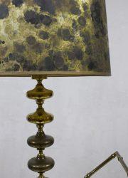 vintage table lamp gold brass Holywood regency style Dubai style