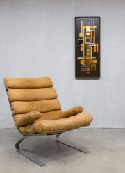 Sinus lounge chair fauteuil by Reinhold Adolf & Hans-Jürgen Schräpfer for COR