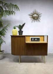 vintage toonbank winkelinrichting jaren 60