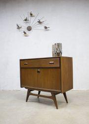 vintage cabinet Dutch design Danish style Webe Louis van Teeffelen
