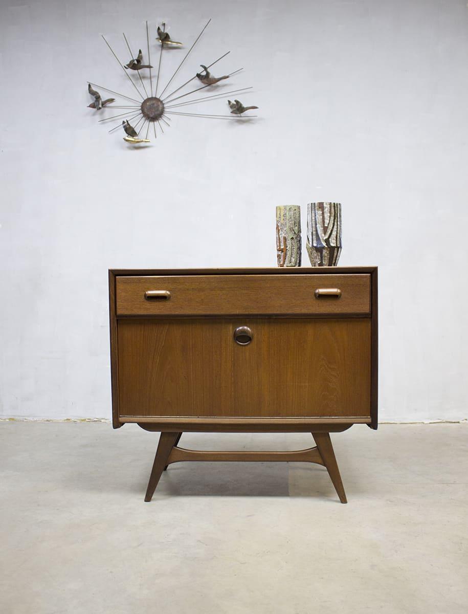 Vintage kast cabinet Webe Louis van Teeffelen