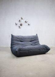 vintage togo ligne roset tweezits two seat sofa