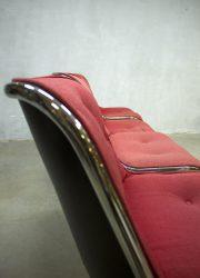 Midcentury vintage design stoel bureaustoel eetkamerstoel Pollock Knoll jaren 60