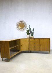 vintage design wandkast kast dressoir toonbank vitrine cabinet counter