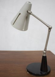 Dutch design vintage bureaulamp lamp H. Busquet Hala Zeist