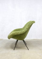 vintage fluffy chair armchair lounge chair France