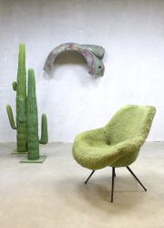 Fifties midcentury lounge chair armchair kuipstoel Eclectic style