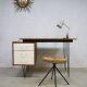 Midcentury vintage design writing desk bureau Pastoe Cees Braakman
