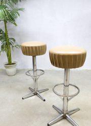 jaren 60 70 vintage retro kruk barkruk stool barstool Industrial