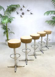 seventies bar krukken industrieel barstools Industrial retro loft