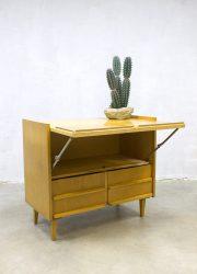 Vintage cabinet minimalism dressoir mid century design kast