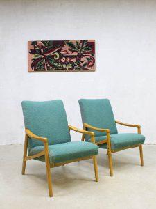 vintage lounge stoel lounge chair fauteuil retro loft