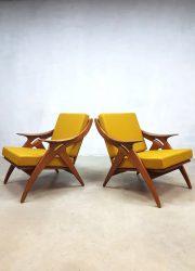 vintage de knoop Ster fauteuil armchair Gelderland