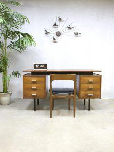 Vintage design Pastoe bureau Cees Braakman buro'Minimalism' jaren 50 60, midcentury design desk Pastoe Cees Braakman Dutch vintage design