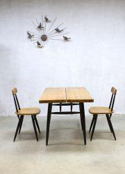 Ilmari Tapiovaara Pirkka chairs vintage midcentury design