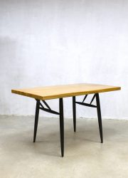 Vintage Ilmari Tapiovaara dinner table dining table eetkamertafel Scandinavisch