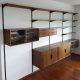 Modulair vintage wandsysteem wall unit Kai Kristiansen FM Mobler