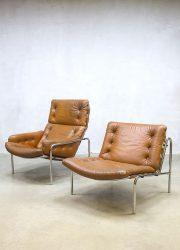 Het Spectrum vintage Martin Visser lounge set fauteuil dames heren