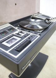 Stereo music vintage minimalism radio record player West Germany