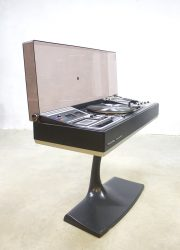 Vintage Rosita turntable radio music recordplayer