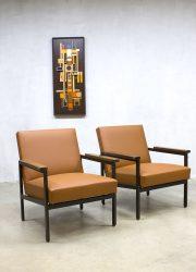 mid century Tijsseling lounge chairs Gijs van der Sluis