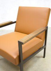 Gijs van der Sluis vintage midcentury fauteuil Nederlands design