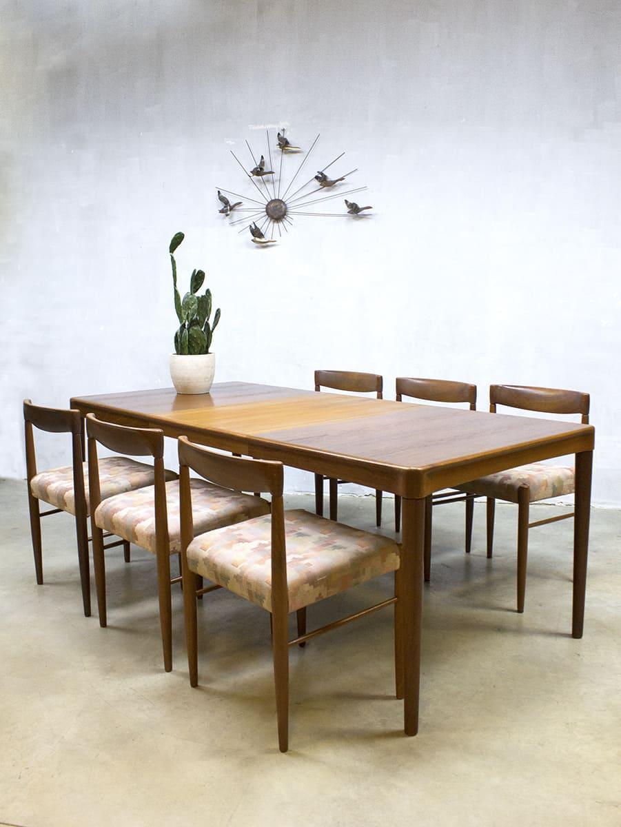 Danish vintage design dining table dinner table eetkamer for Design retro esstisch scandinavia