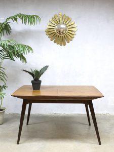midcentury modern table Dutch Webe Louis van Teeffelen design vintage eetkamertafel tafel