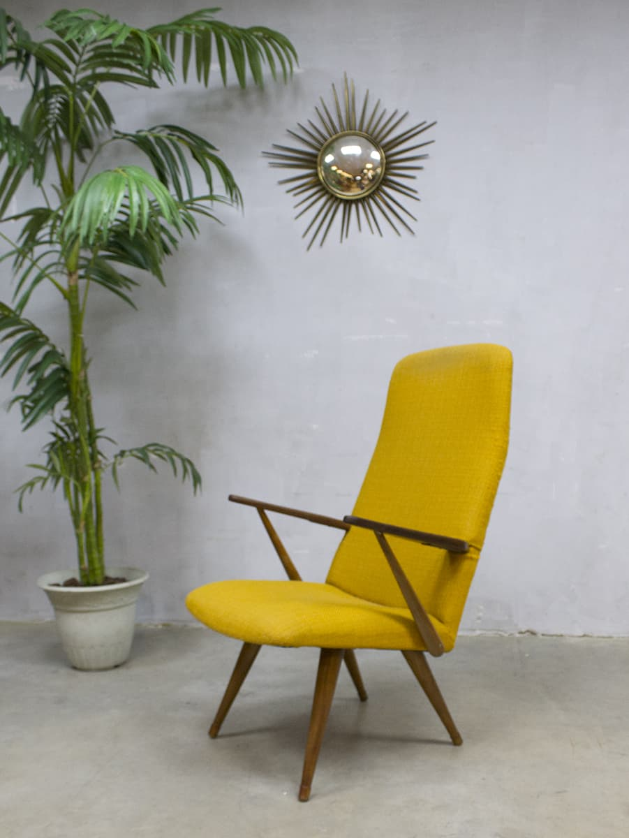Vintage design lounge chair armchair akerblom zweedse fauteuil for Design armlehnstuhl
