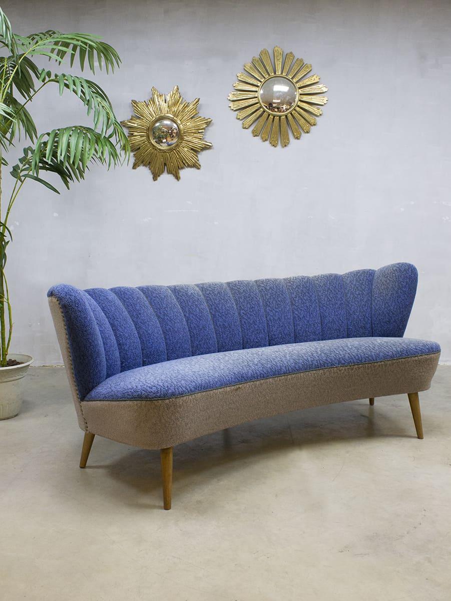 Verbazingwekkend Jaren 50 vintage design cocktail bank lounge bank sofa fifties XXL GM-37
