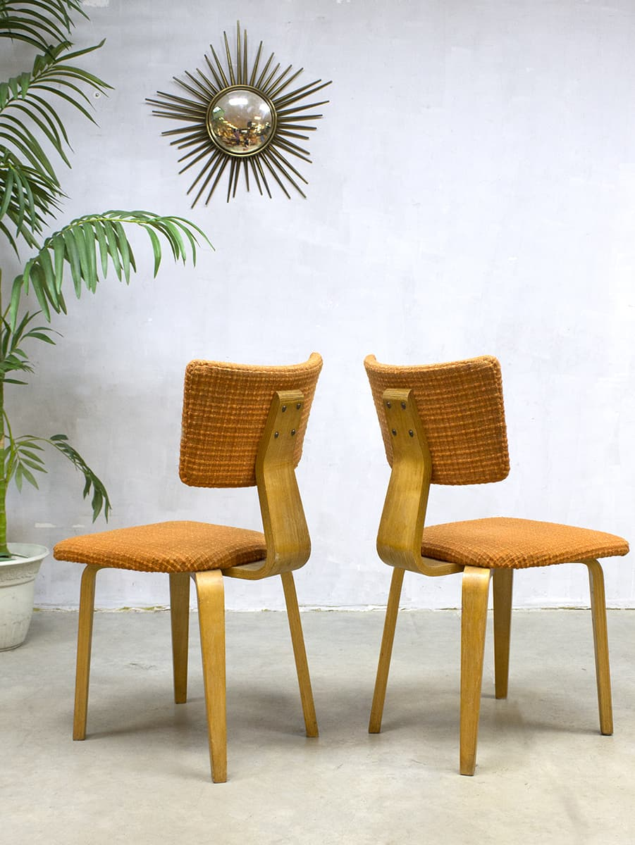 Vintage cor alons dinner chairs design eetkamerstoelen for Dutch design eetkamerstoelen