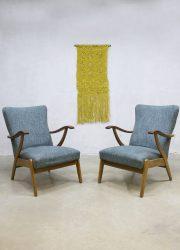 vintage scandinavian design lounge chair fauteuil stoel