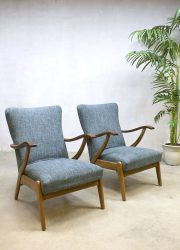 midcentury lounge chairs armchair easy chair vintage design