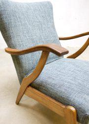 mid century jaren 60 lounge fauteuil Deens design Danish style