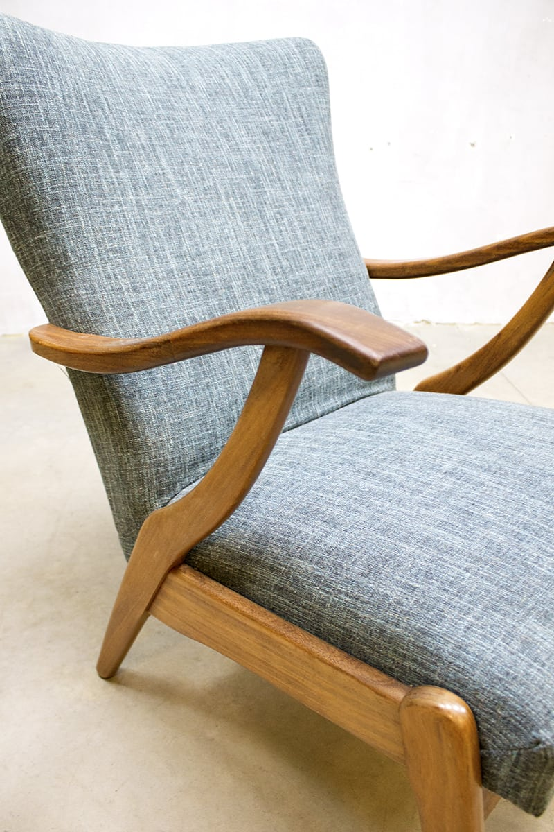Vintage danish easy chairs arm chairs lounge fauteuils deense stijl - Zeer comfortabele fauteuil ...