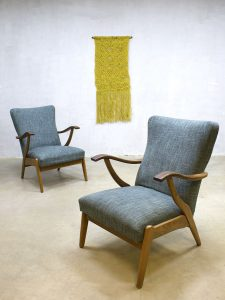 Vintage Danish chairs easy chairs lounge fauteuils