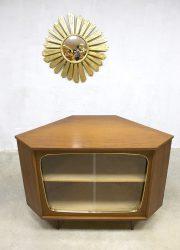 vintage design cabinet dressoir hoekkast sixties fifties design